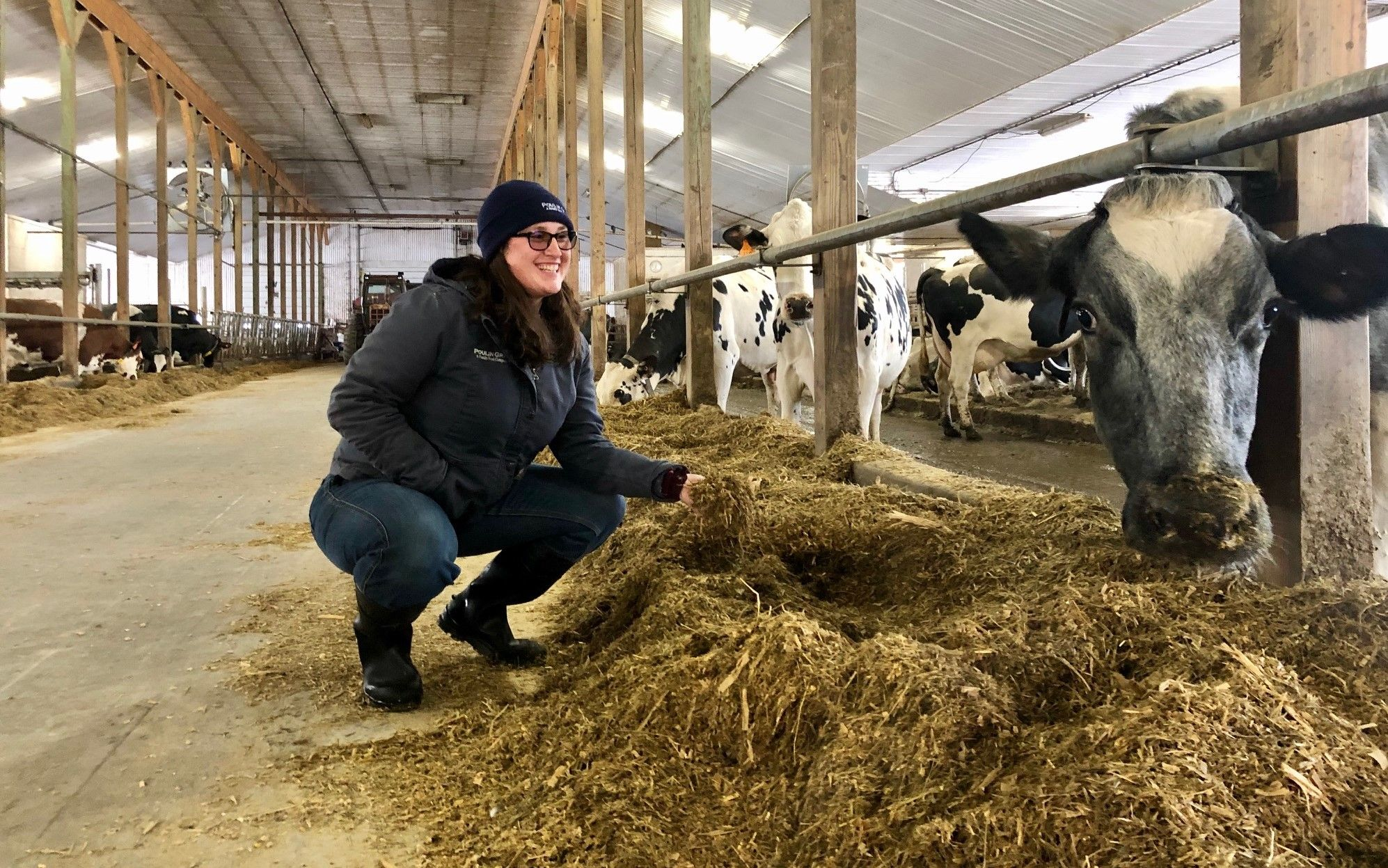 A Day in the Life of a Dairy Cattle Nutritionist